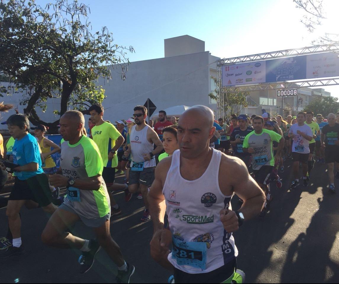 Mais de mil atletas participam da 2ª Corrida do Bem
