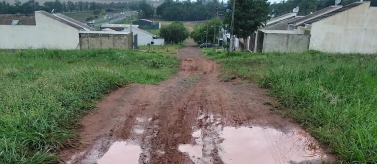 Acordo entre loteador e prefeitura garante obras de infraestrutura no conjunto Santa Rosa em Iguatemi