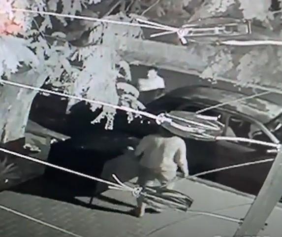 Após vídeo viralizar, polícia identifica casal que furtou container