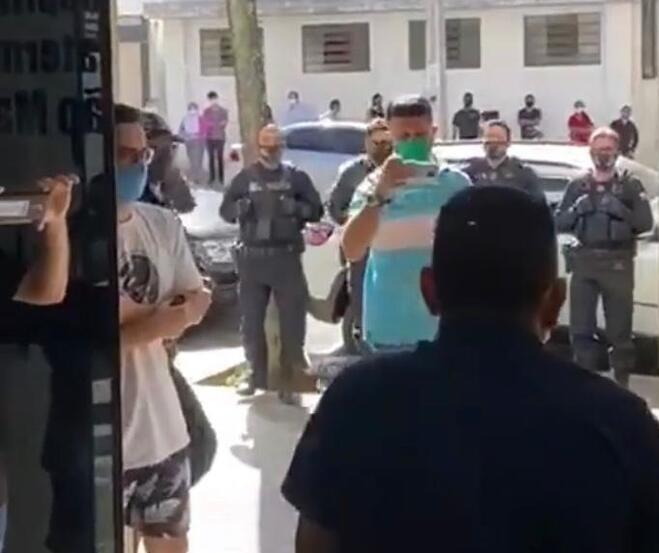Agente penitenciário vence Covid-19 e recebe homenagem em Maringá; VÍDEO
