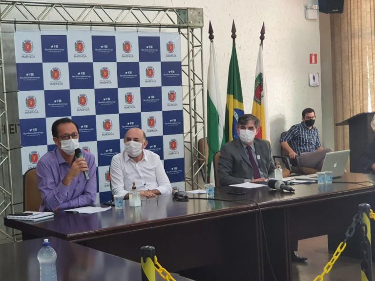 Maringá pede reforço da rede privada para abertura de leitos de UTI