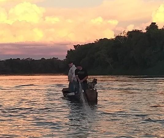 Força-tarefa apreende equipamentos de pesca ilegal em rios do Paraná
