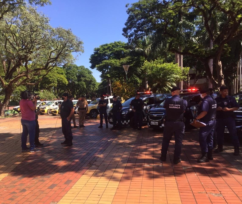 Mesmo com decreto, as pessoas têm saído às ruas em Maringá