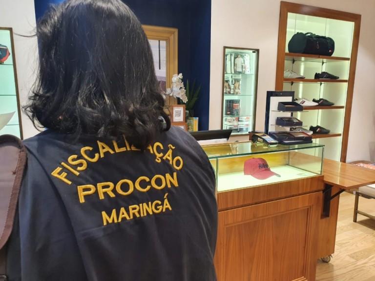 Procon vistoria comércio de Maringá sobre precificação e serviços aos consumidores