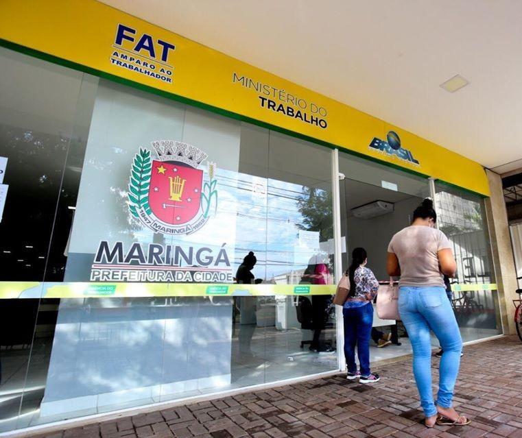 Agência do Trabalhador oferta 310 vagas de emprego em Maringá