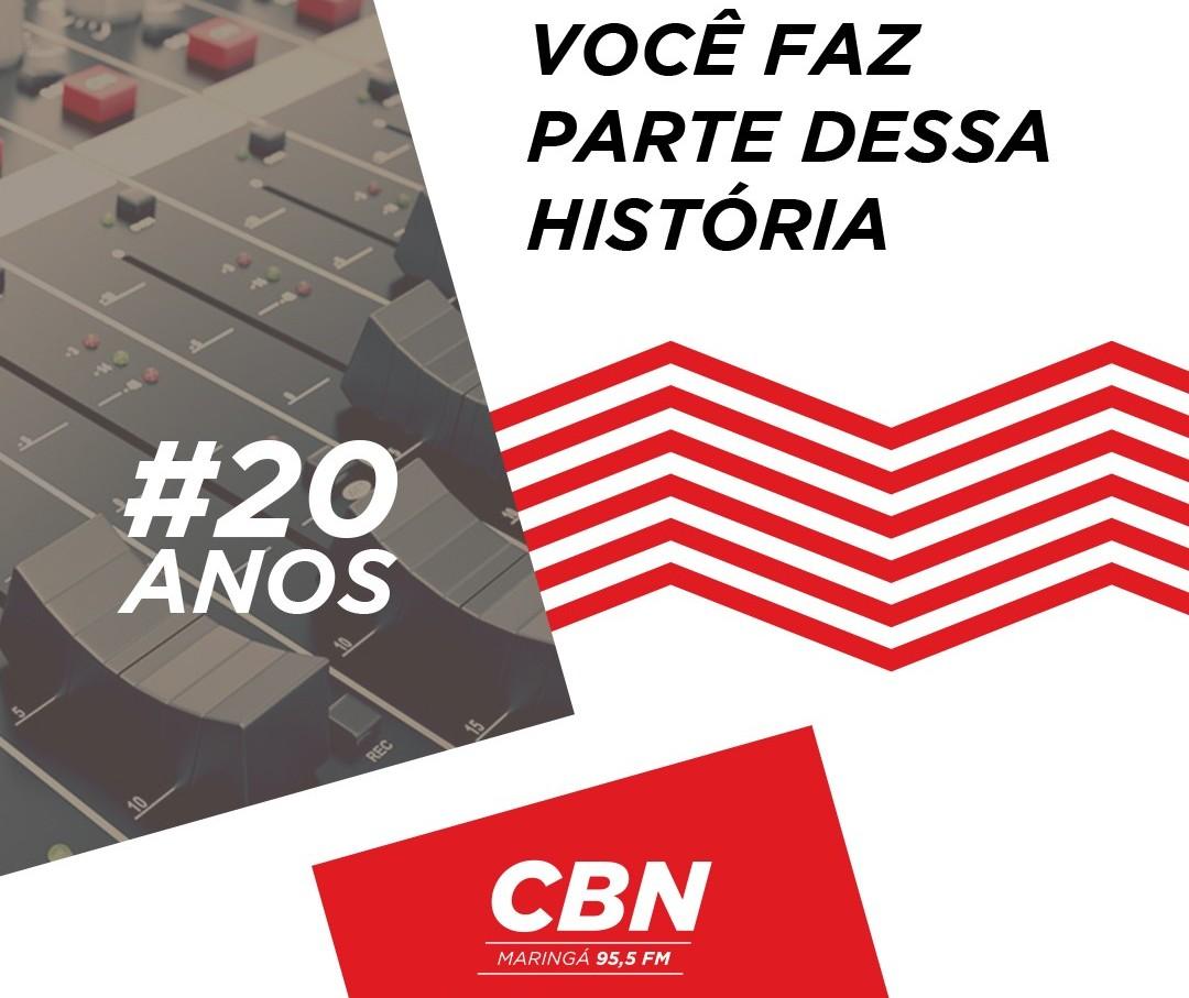 CBN Maringá completa 20 anos
