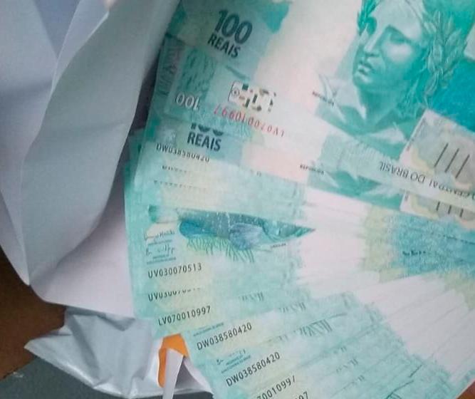 PF cria núcleo especializado e apreende R$ 500 mil em moeda falsa