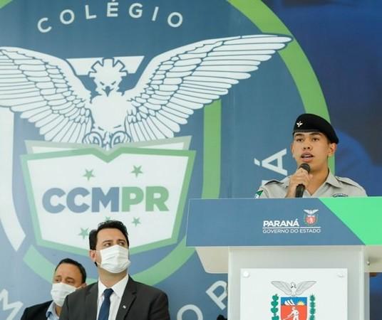 Três colégios de Maringá aprovam conversão para cívico-militar