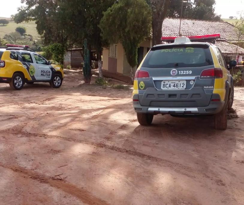 Dupla morre em confronto com a PM na zona rural de Mandaguaçu