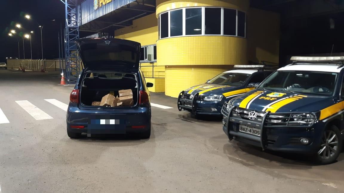 Condutor é preso transportando 68 Kg de maconha para Londrina