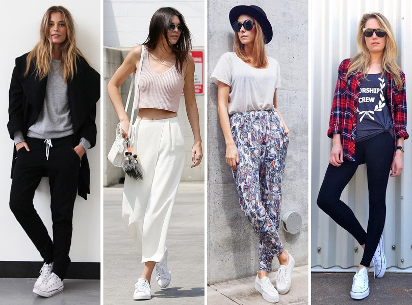 Mulheres italianas usam roupas mais confortáveis do que justas
