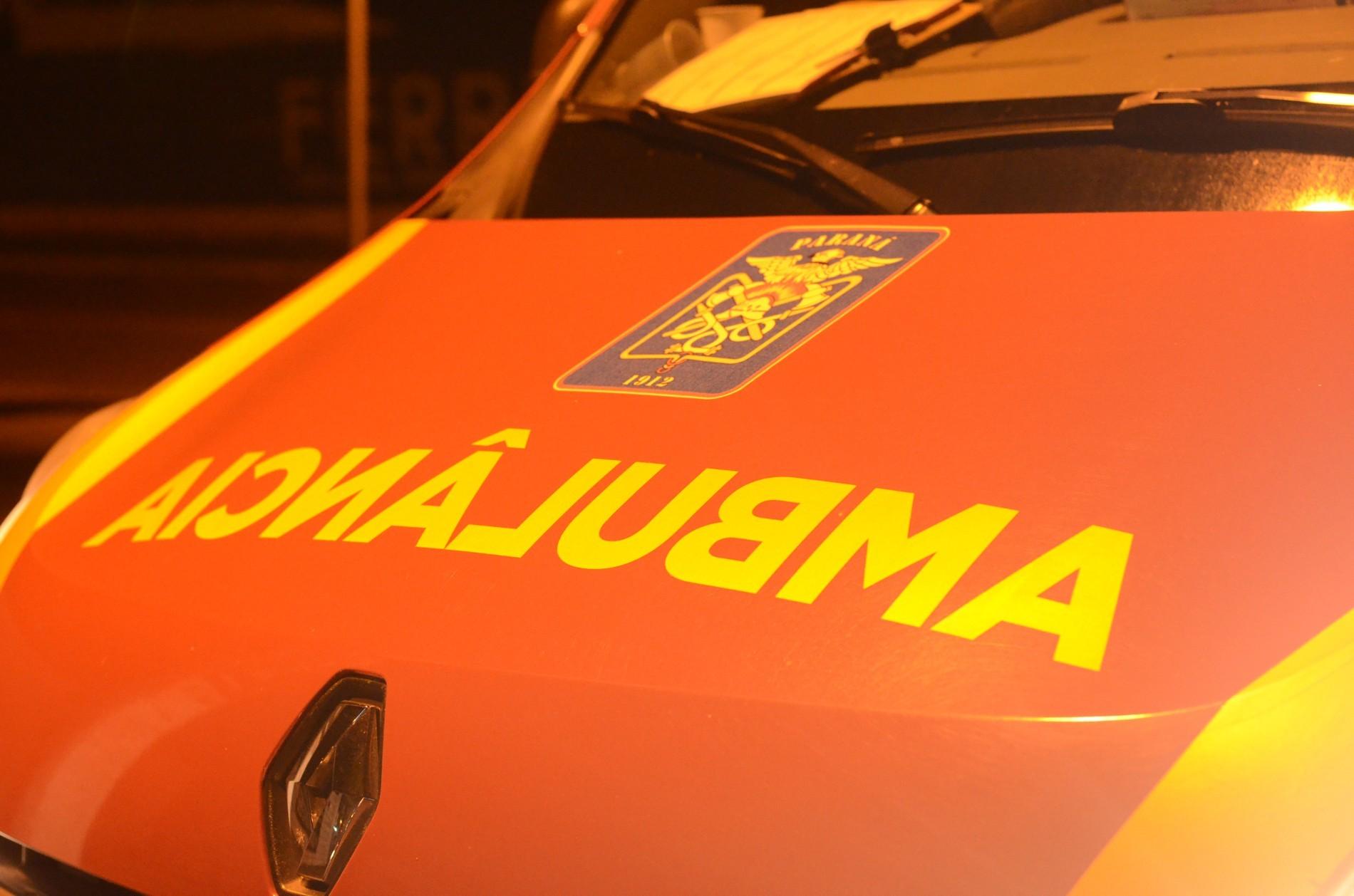 Quatro pessoas ficam feridas em acidente