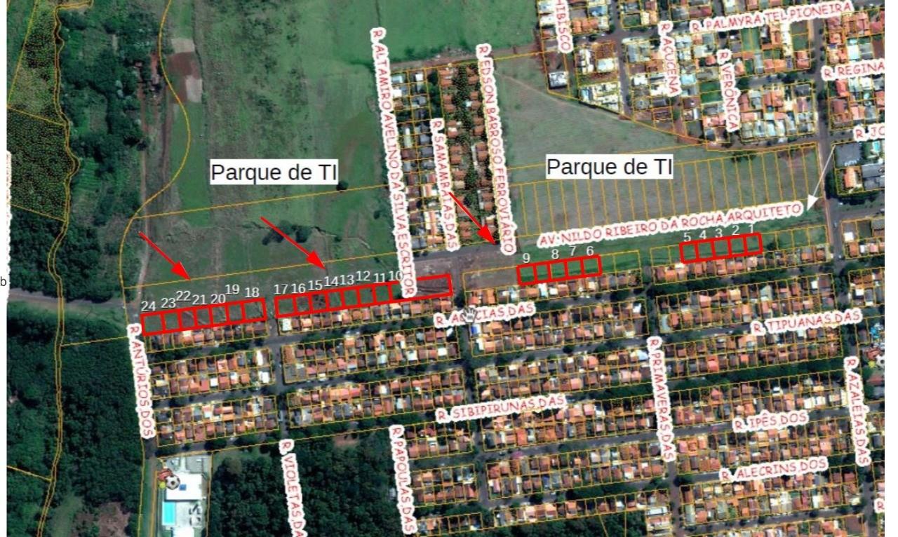 Prefeitura vai comercializar 24 terrenos na Avenida Nildo Ribeiro