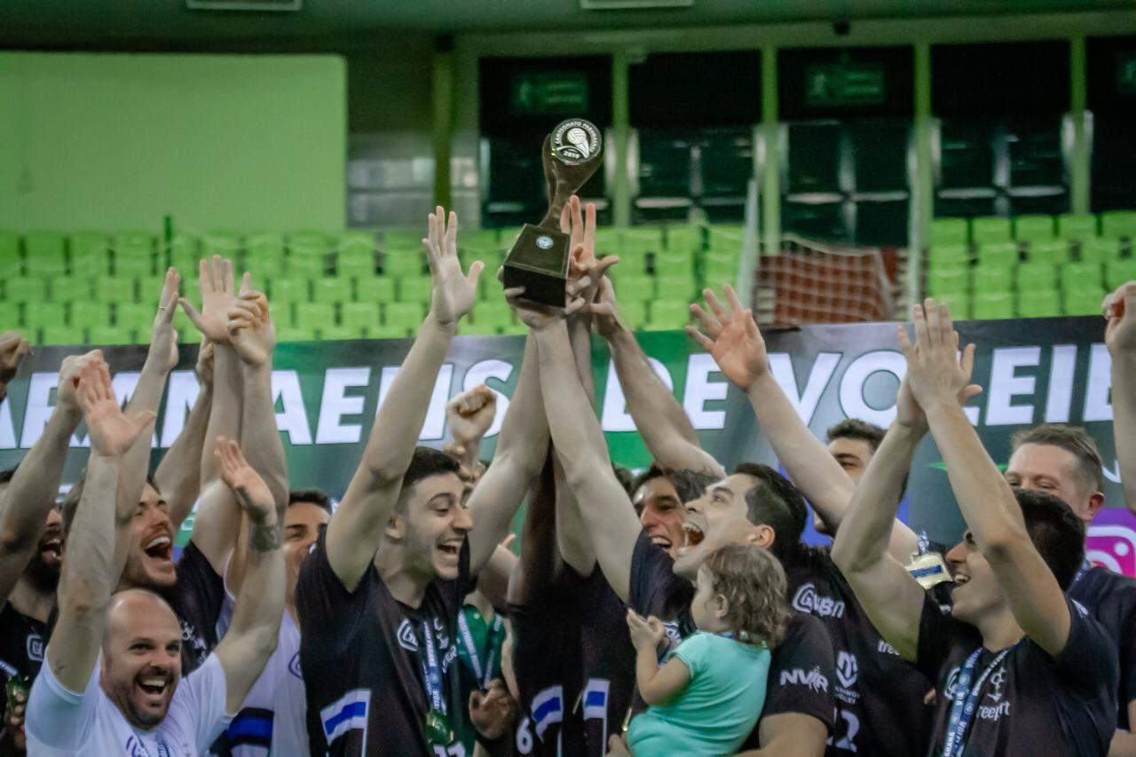 Denk Maringá é campeão do Paranaense de Vôlei Adulto Série A
