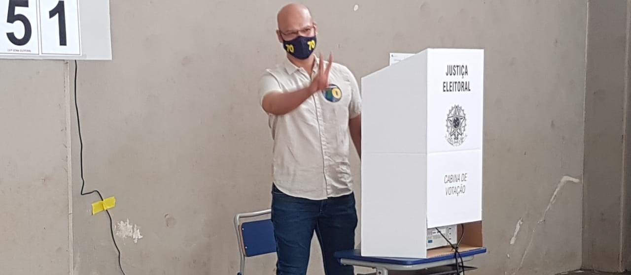 Candidato Rogério Calazans (Avante) / foto: Lethícia Conegero/GMC Online