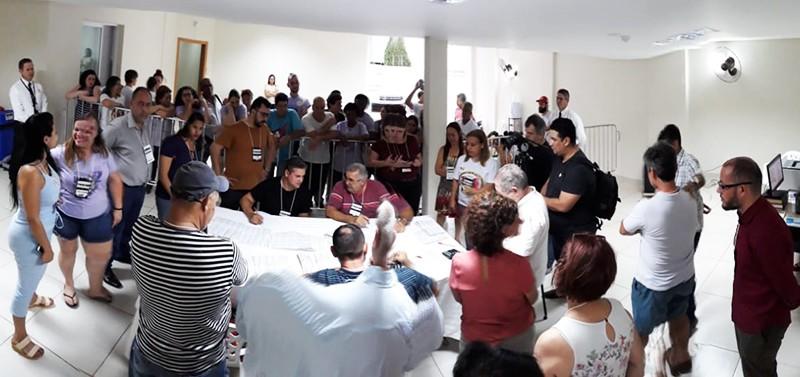 Chapas 1 e 2 disputam segundo turno na eleição do Sismmar