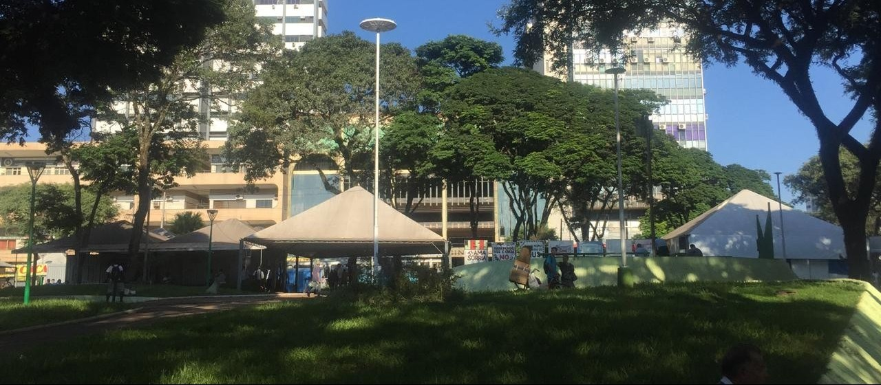 Revitalização da praça deve começar no ano que vem
