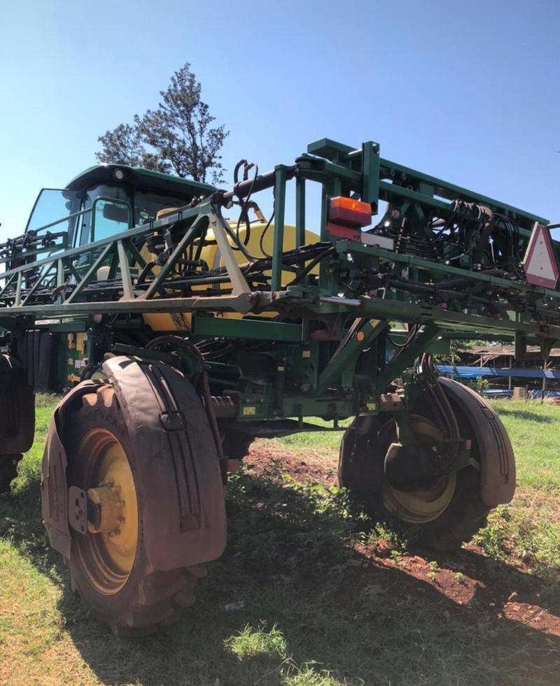 Máquina agrícola. Foto: Samu