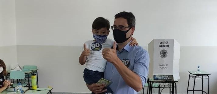 Candidato Homero Marchese (Pros) / foto: Victor Simião/CBN Maringá