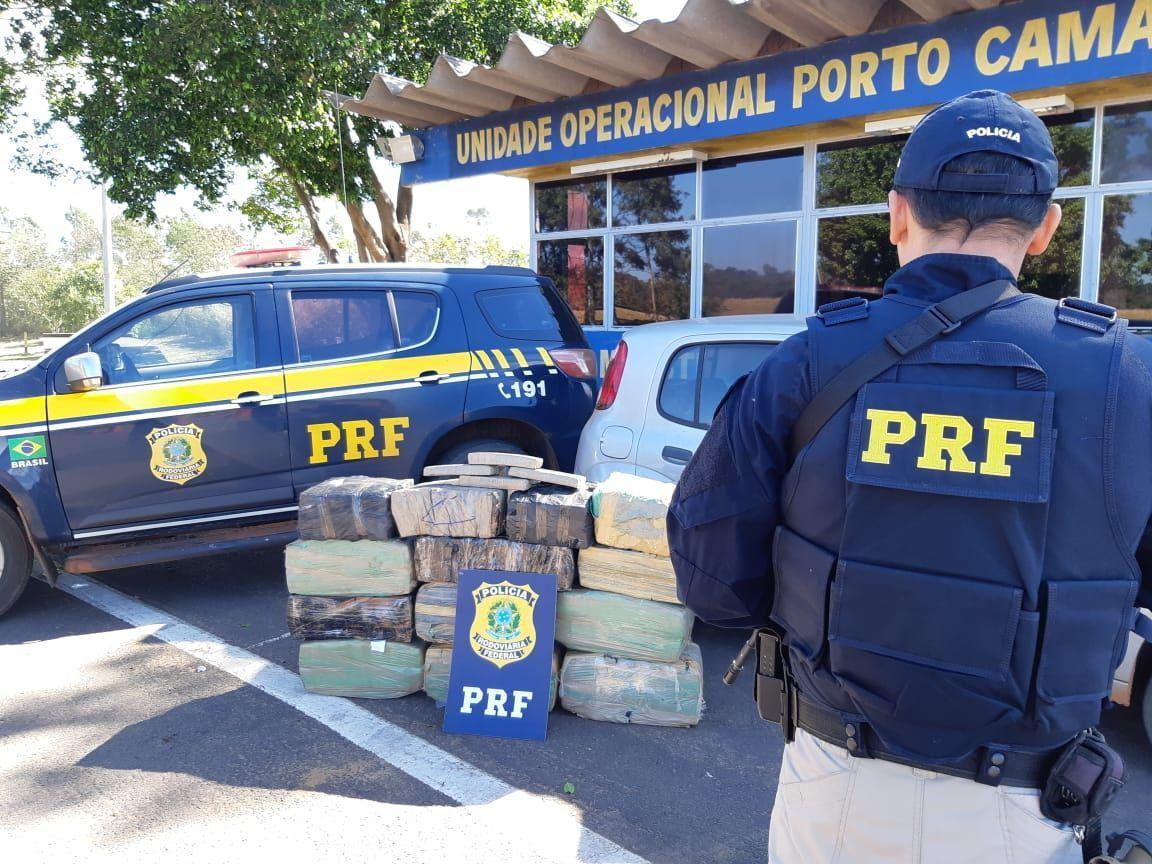 Quase 320 kg de maconha são apreendidos em Alto Paraíso