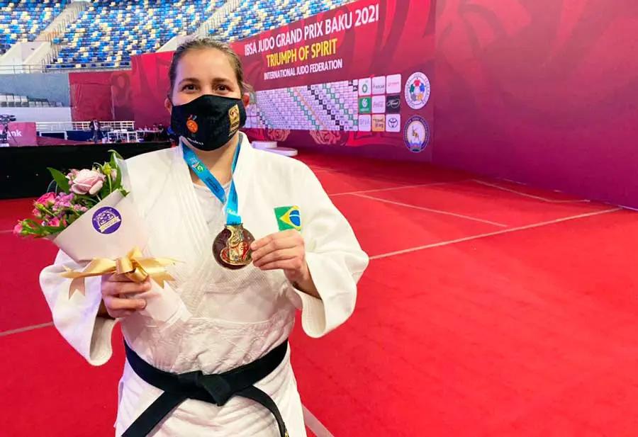 Judoca Meg Emmerich (foto: divulgação)