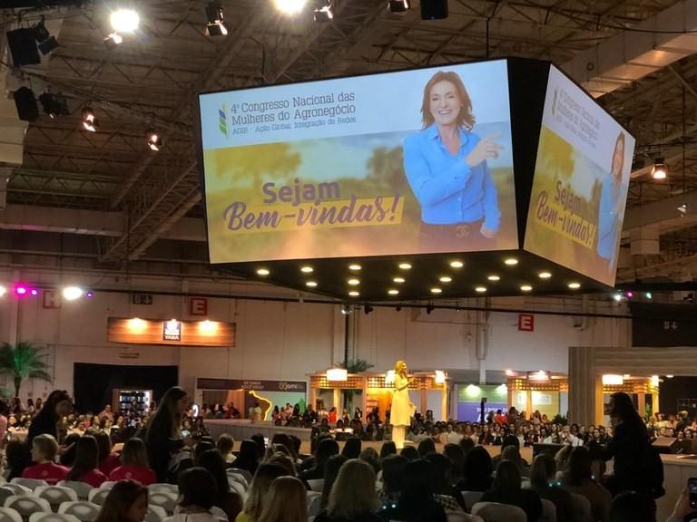 4º Congresso Nacional das Mulheres do Agronegócio ocorre em São Paulo