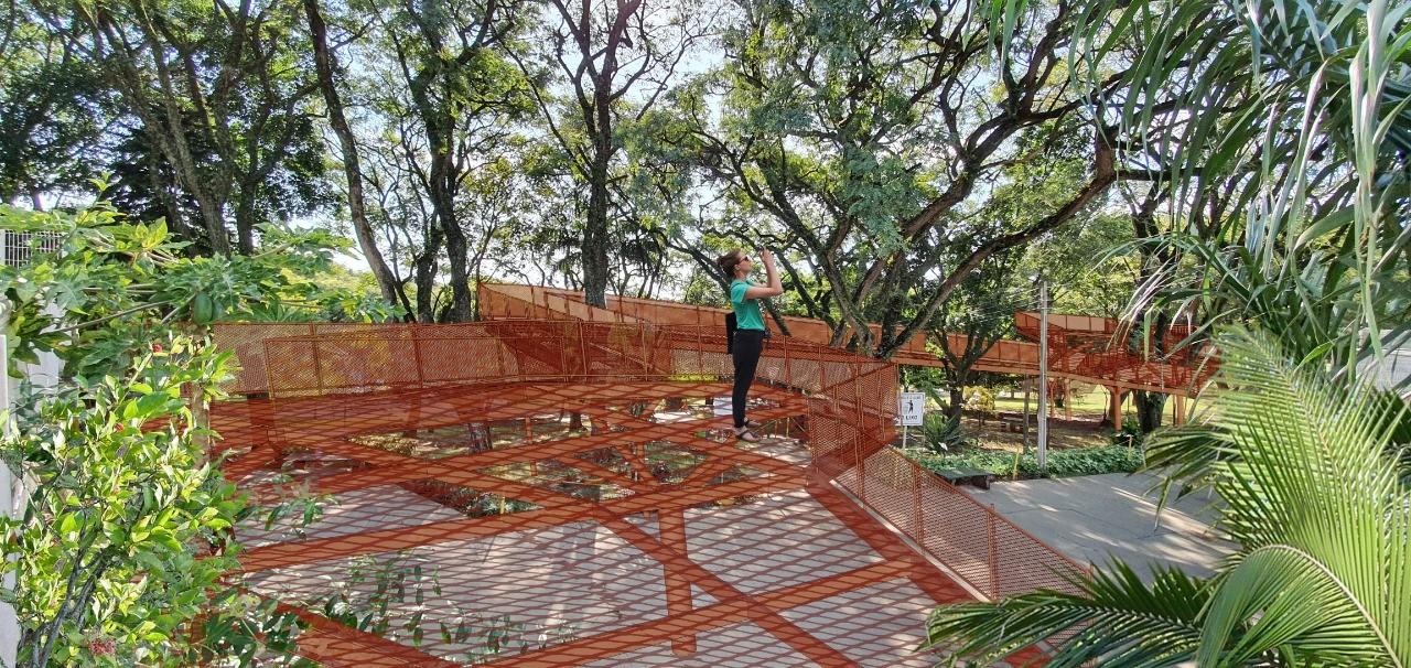 Parque Alfredo Nyffeler terá mirante. Foto: Divulgação/Prefeitura de Maringá