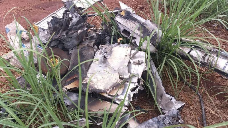 Aeronave furtada em Iguatemi é encontrada queimada