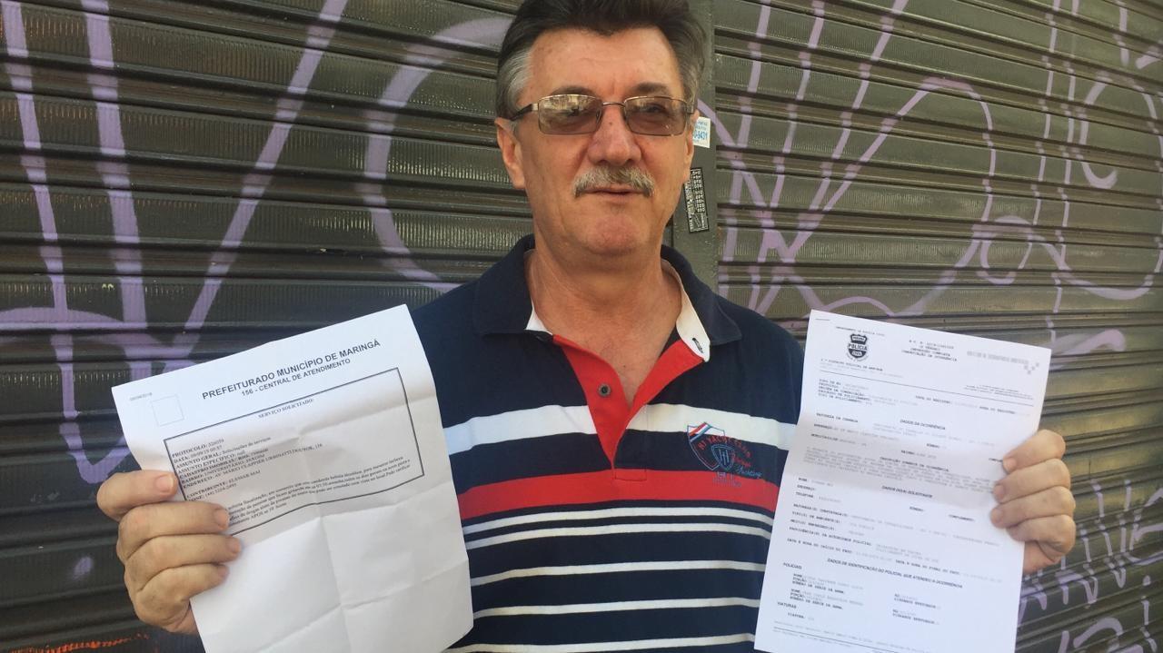 Moradores da Rua Mário Urbinati, na Zona 7, pedem socorro