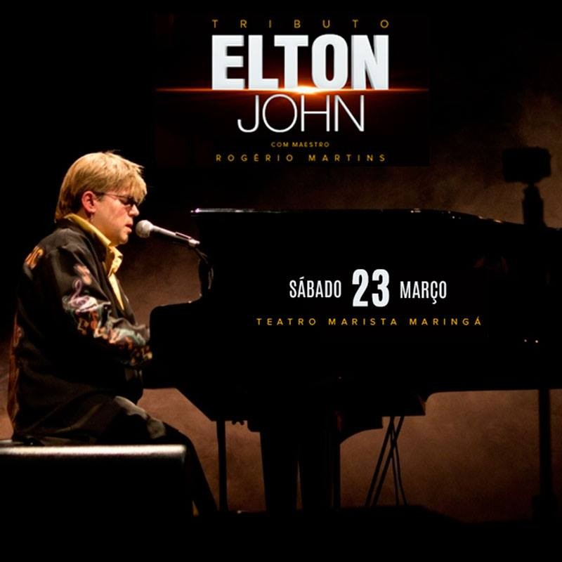 """Concorra a pares de convites para o show """"Elton John Tribute"""""""