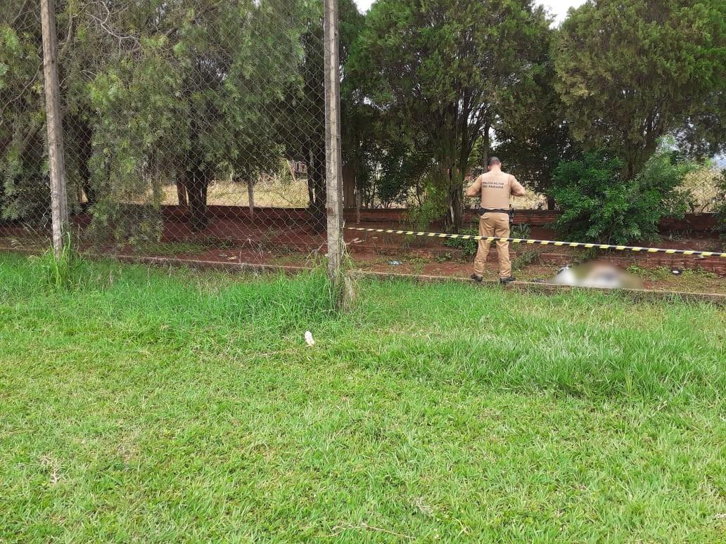 Jovem de 22 anos é encontrado morto em Paiçandu