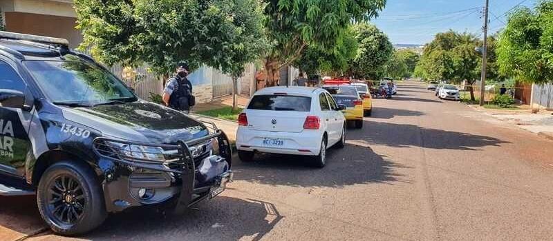 Homem tenta agredir policiais com faca e acaba morto em Maringá