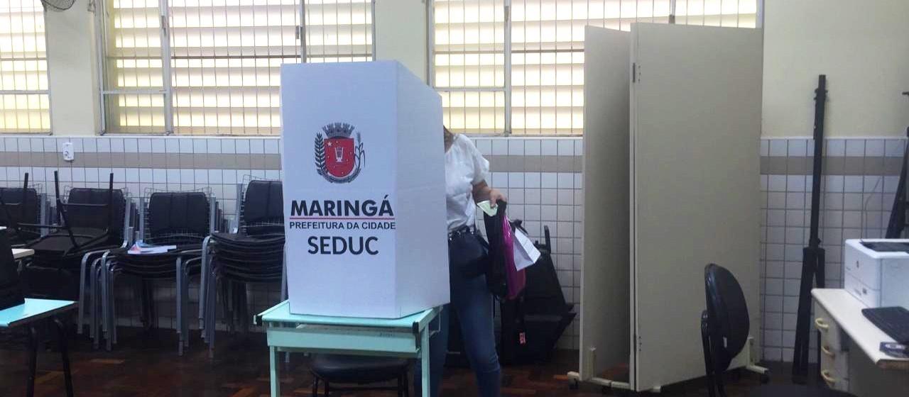 Mais de 150 candidatos disputam a direção de escolas e Cmeis de Maringá