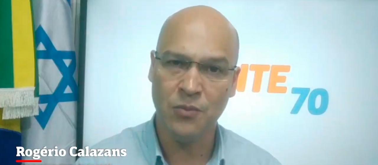 Segurança pode reduzir gastos e ter apoio de câmeras privadas, diz candidato Calazans