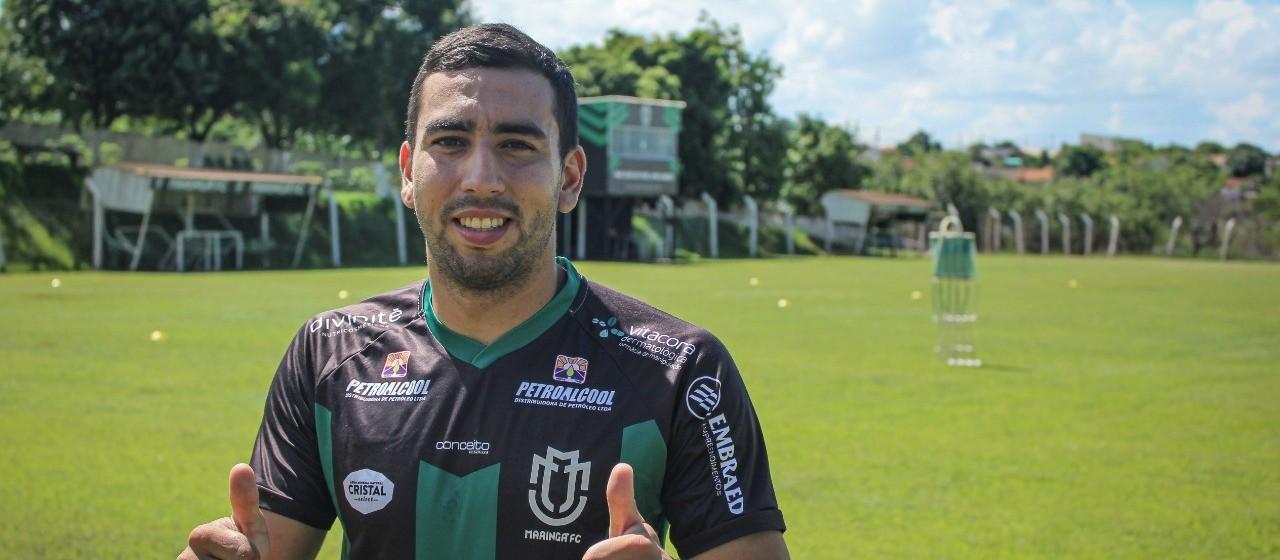 Maringá FC anuncia contratação do primeiro jogador estrangeiro de sua história