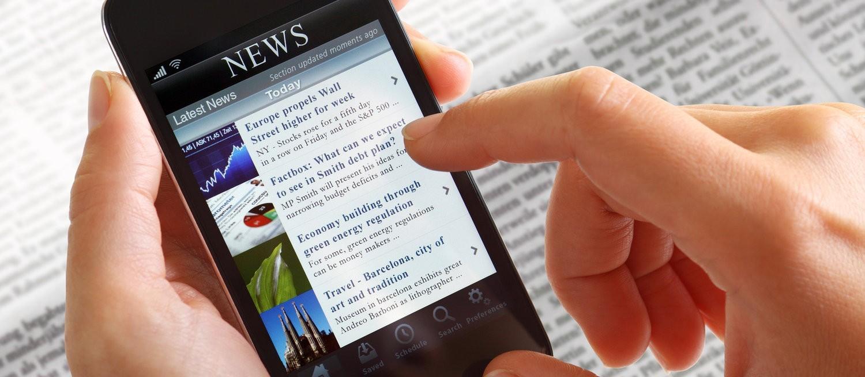 Diferença no consumo de notícias entre as gerações  X, Y e Z