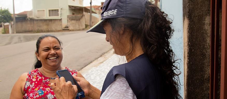 IBGE realiza processo seletivo para contratar recenseador e agente censitário