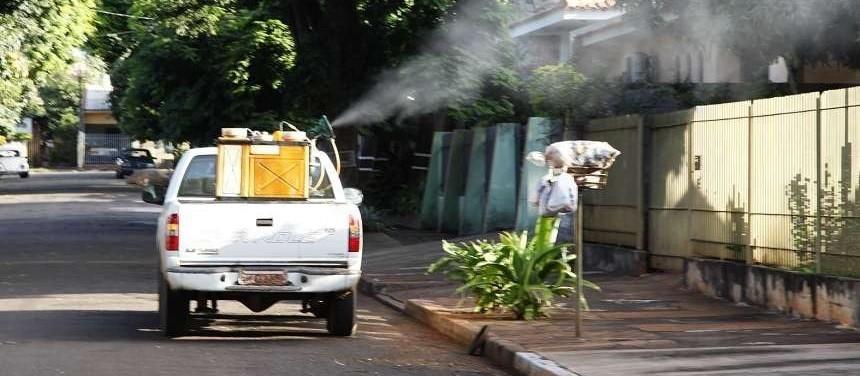Aplicação de fumacê em Maringá termina nesta sexta-feira (12)