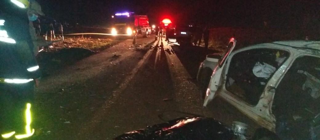 Quatro pessoas morrem em acidente em Goioerê