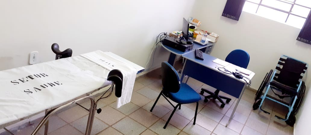 Cadeia feminina de Astorga ganha ambulatório para atender detentas