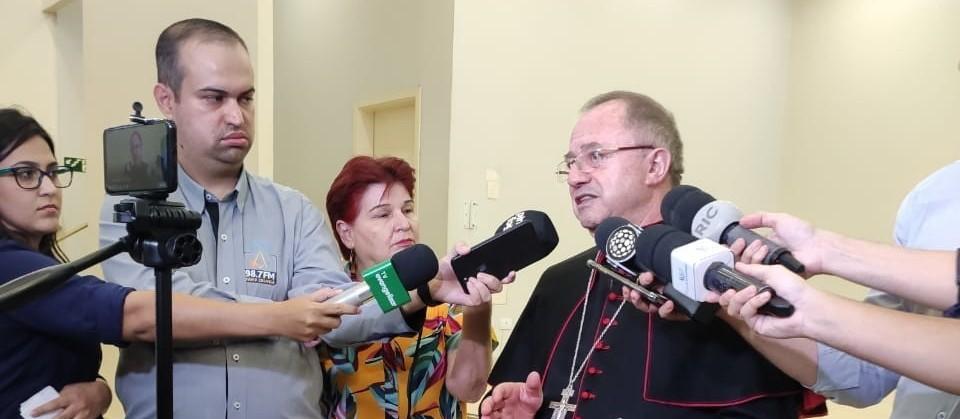 Mesmo com liberação, arquidiocese permanecerá fechada em Maringá