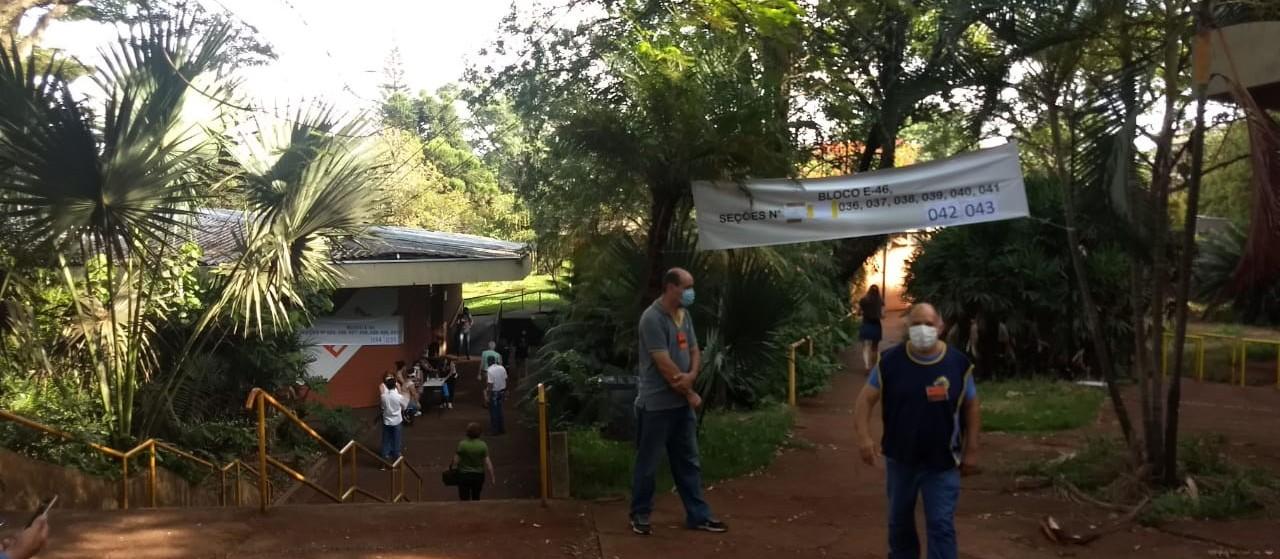 UEM é o 2º maior local de votação de Maringá