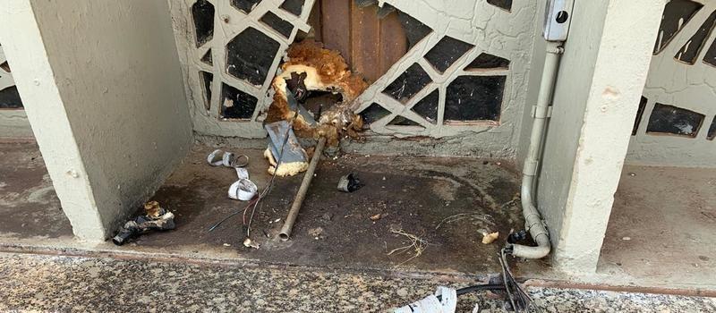Ladrões furtam fios de cobre da Catedral de Maringá