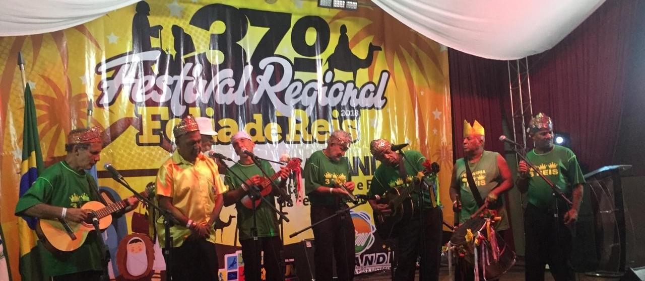 Festival regional de Folia de Reis movimenta Sarandi