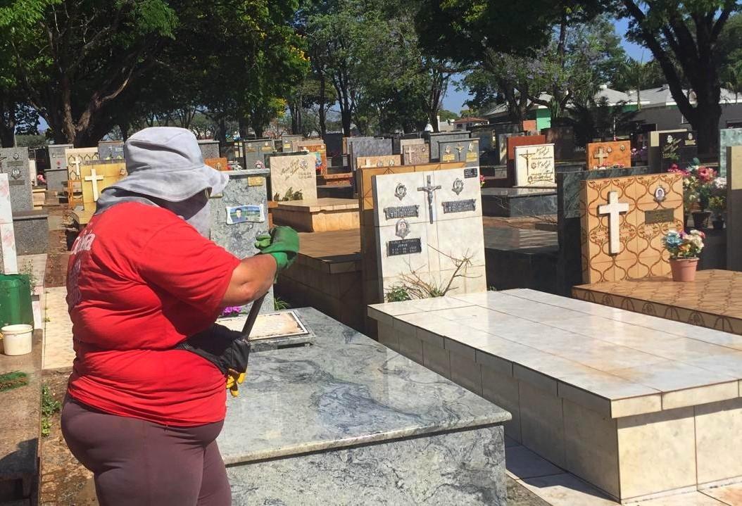 Limpeza de túmulos gera renda para várias famílias