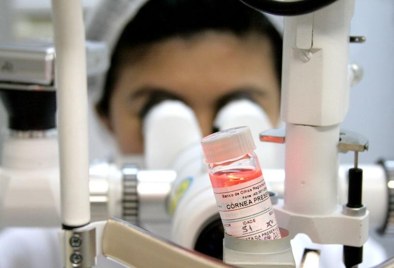 Banco de Olhos suspende a captação de córneas em Maringá