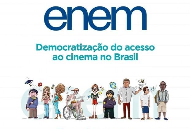 Redação Enem 2019: democratização do acesso ao cinema no Brasil