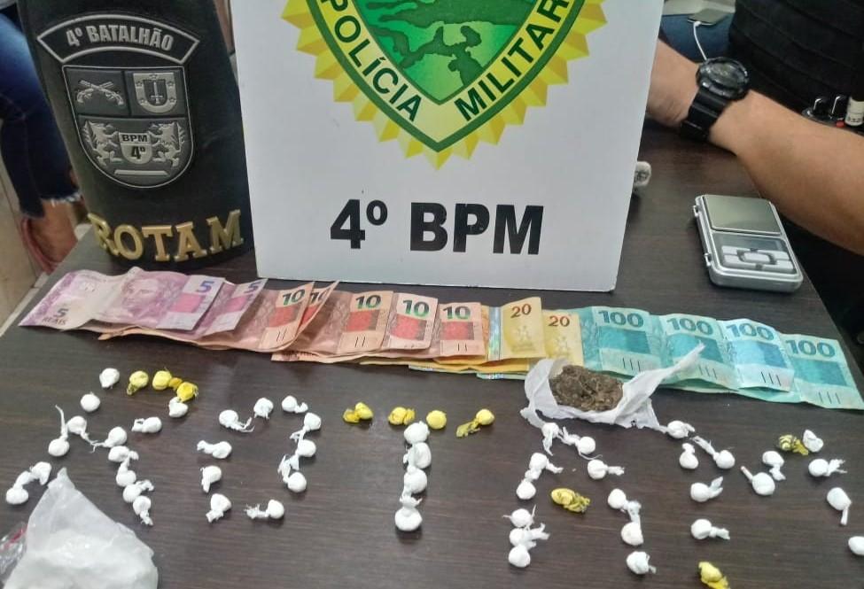 Mulher é presa por tráfico de drogas em Maringá e confessa crime