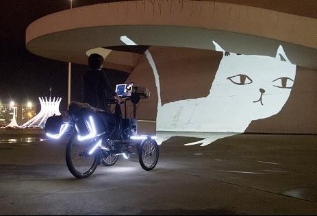 Espetáculo audiovisual é apresentado no Parque do Ingá