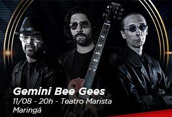 Quer assistir ao show do Gemini Bee Gees em Maringá?